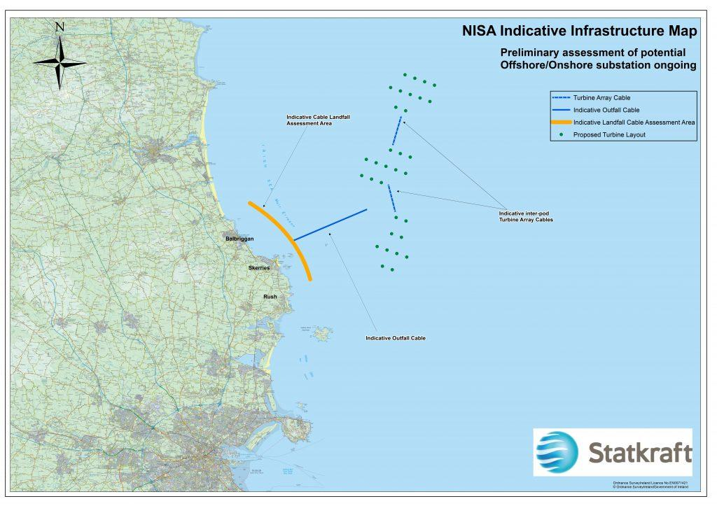NISA Indicative Infrastructure Map